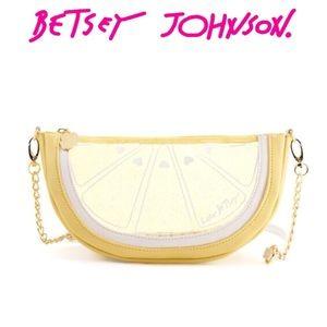Betsey Johnson Lemon Crossbody